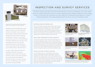 Inspection brochure