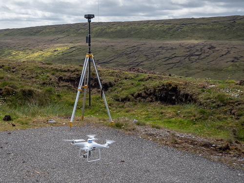 P4RTK UAS and D-RTK 2 multi-band GNSS base station