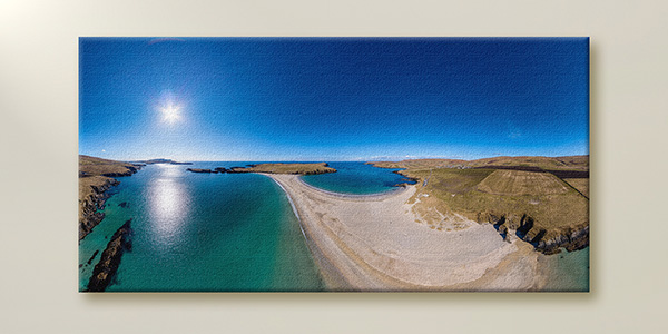 Stunning 360 print on canvas